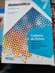 Matemática 7 ano Caderno de Fichas - Maria Augusta Ferreira Ne...