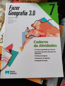 Fazer Geografia 3.0 Caderno Atividades - Ana Gomes, Anabela Santos...