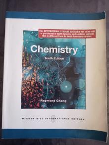 Chemistry - Raymond Chang