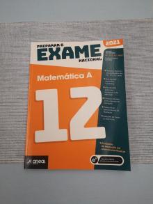 Prepara o Exame Nacional Matemática A 2021 NOVO - Andreia Gonçalves e Carl...