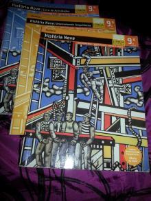 História Nove (3 livros: manual, livro de actividades, livro de desenvolvimento de competências) - Marí
