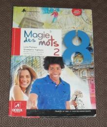 Livro Manual Escolar de Francês 8º Ano - Luisa Pacheco / Gi