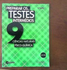 Cfq preparar para os testes intermédios 9 - -