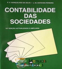 Contabilidade das Sociedades - F. V. Gonçalves