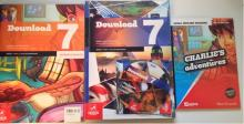DownLoad 7 +WorkBook + Charlie's Adventures + CD