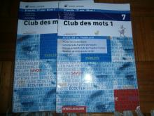 Club des Mots 1 7ºano