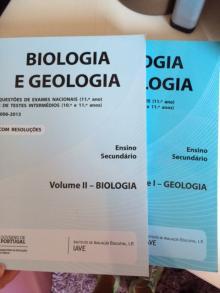 Biologia e Geologia questões de exame nacional