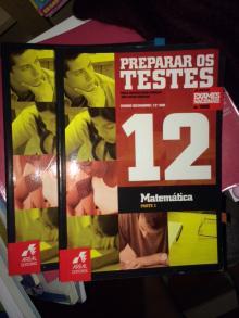 Preparar os testes matematica A12º 2 volumes - varios