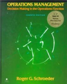 Operations Management - Roger G. Schroeder