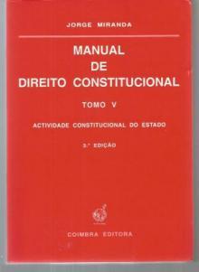Manual de Direito Constitucional Tomo V