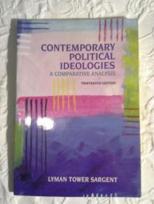 Ideologias Políticas Contemporâneas (Contemporary Political Ideologies - A Comparative Analysis)