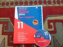 Preparação para exame nacional física e química A 2014 com CD-ROM - Maria Elisa
