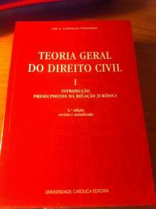 Teoria Geral do Direito Civil Vol. I