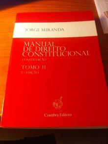 Manual de Direito Constitucional Tomo II