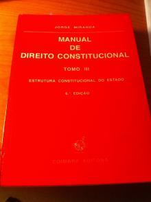 Manual de Direito Constitucional Tomo III