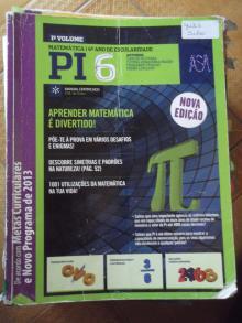 Pi 6 - Matemática - 6º Ano - Carlos Olive