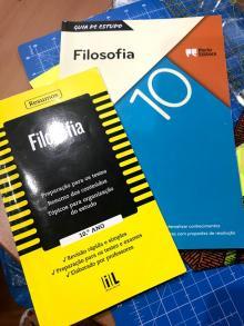 livros apoio Filosofia