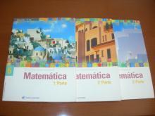 Livros escolares de Matemática 6º ano (novos)