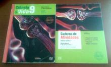 Livros escolares Ciências Naturais, Ciência & Vida 9
