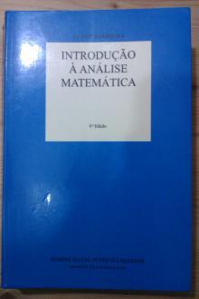 Introdução à Análise Matemática - 9ª Edição - Fundação Calouste Gulbenkian