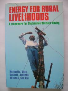 Energy for Rural Livelihoods - ITDG Publishing
