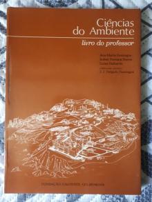 Ciências do Ambiente: livro do professor - Ana Maria Domingos, Isabe...