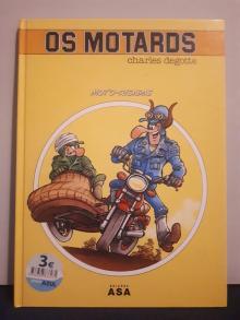 Os Motards: Moto-Risadas - Charles Degotte