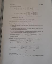 Apontamentos de álgebra linear - Desconhecido