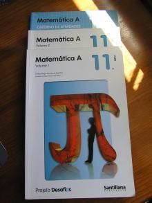 Matemática A Volume 1 - Volume 2 + Caderno de Actividades 11º Ano Ensino Secundário