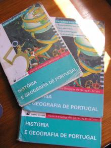 História e Geografia de Portugal 5º Ano + Caderno de Perguntas + O Meu Atlas de Aula