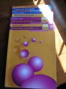 Matemática em Ação 9º Ano Parte 1 + Parte 2 + Parte 3 + Caderno de Actividades