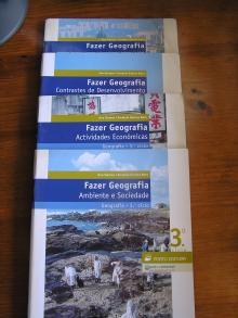 Fazer Geografia Ambiente e Sociedade + Actividades Económicas + Contraste de Desenvolvimento + Caderno Actividades Geografia 3º Ciclo