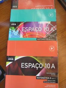 Espaço 10A - Matemática A Volume 1 + Volume 2 + Caderno de Actividades
